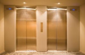 Elevator-Doors-Gold